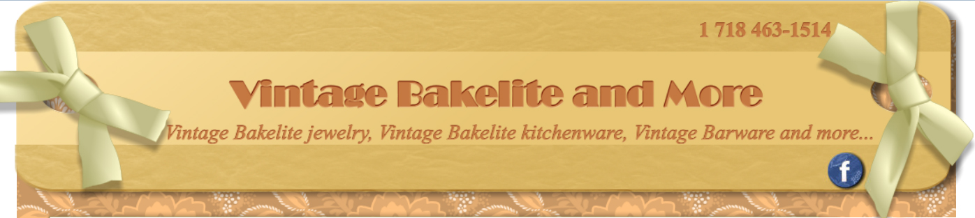 Vintage Bakelite and more - Jewelry, Barware, kitchenware, and much more.